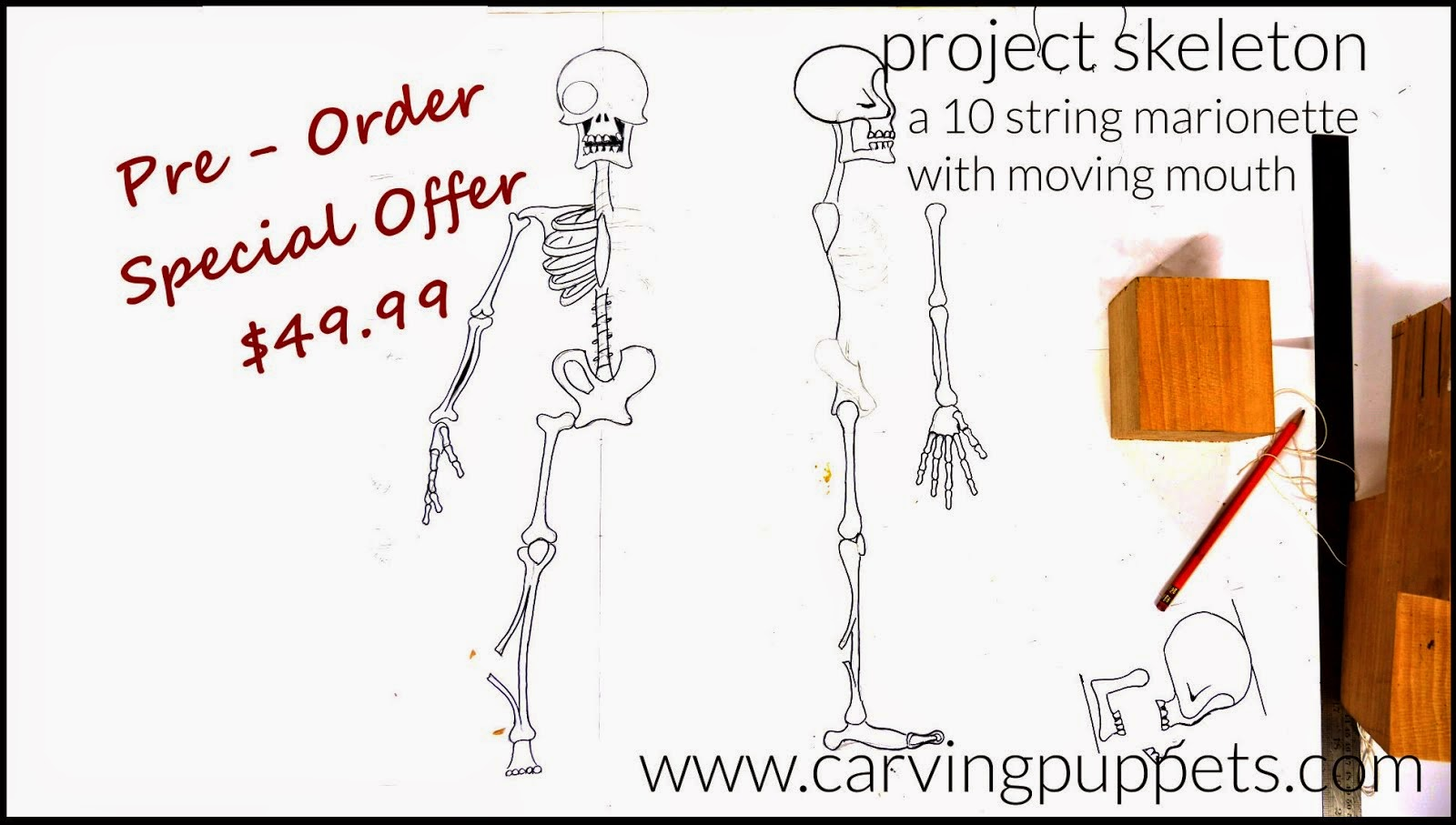 Making Wooden Puppets - Video Tutorial