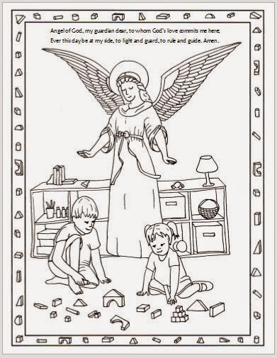 Free Christmas Angel Coloring Pages Print