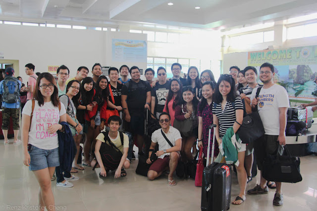 FSRM Outing 2015 - Puerto Princesa Aiport