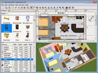 تحميل برنامج تصميم الاثاث Sweet Home 3D