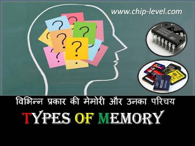 Type Of memory