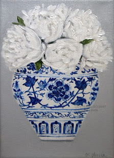 Blue & White Chinoiserie