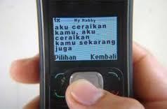 'Cerai' di SMS sah