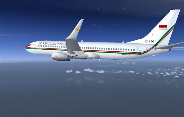 Boeing Business Jet II Republik Indonesia