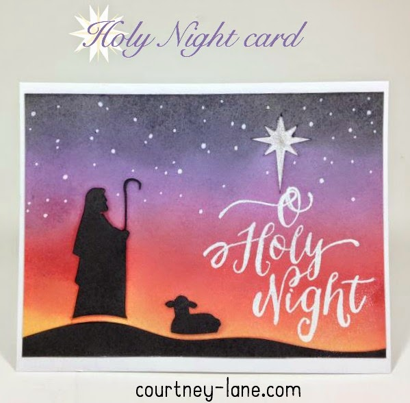 O Holly Night card