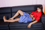 Charulatha Hot Photo shoot in Lungi-thumbnail-11