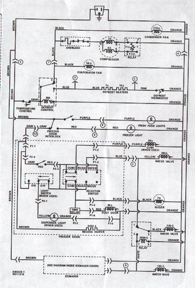 wiring diagram for ge refrigerators wiring image faults and salutions welcome to scservicess on wiring diagram for ge refrigerators refrigerator