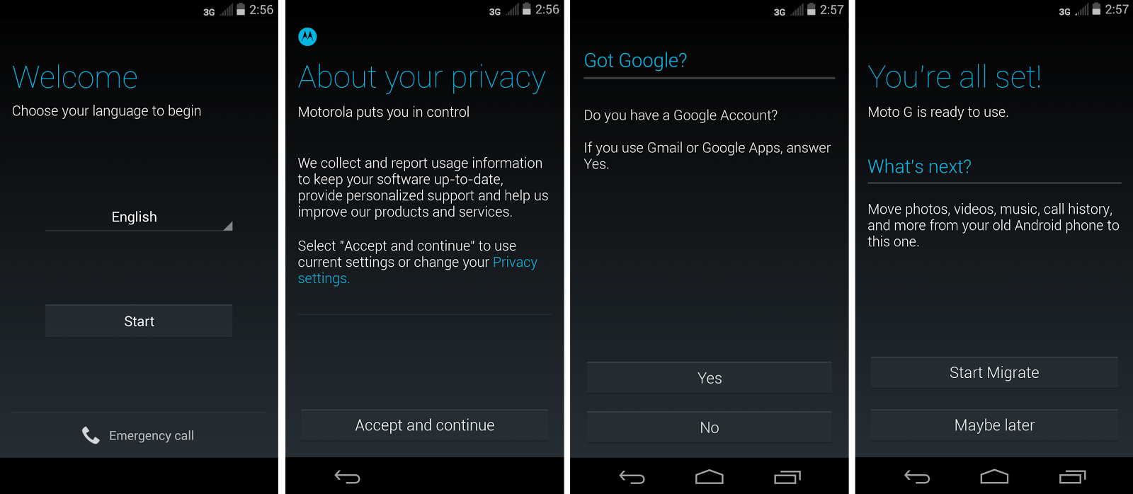 how to activate call waiting in moto g