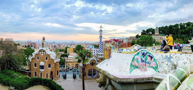 El Parque Güel en Barcelona