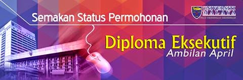 Semakan Keputusan Permohonan Diploma Eksekutif UM 2015