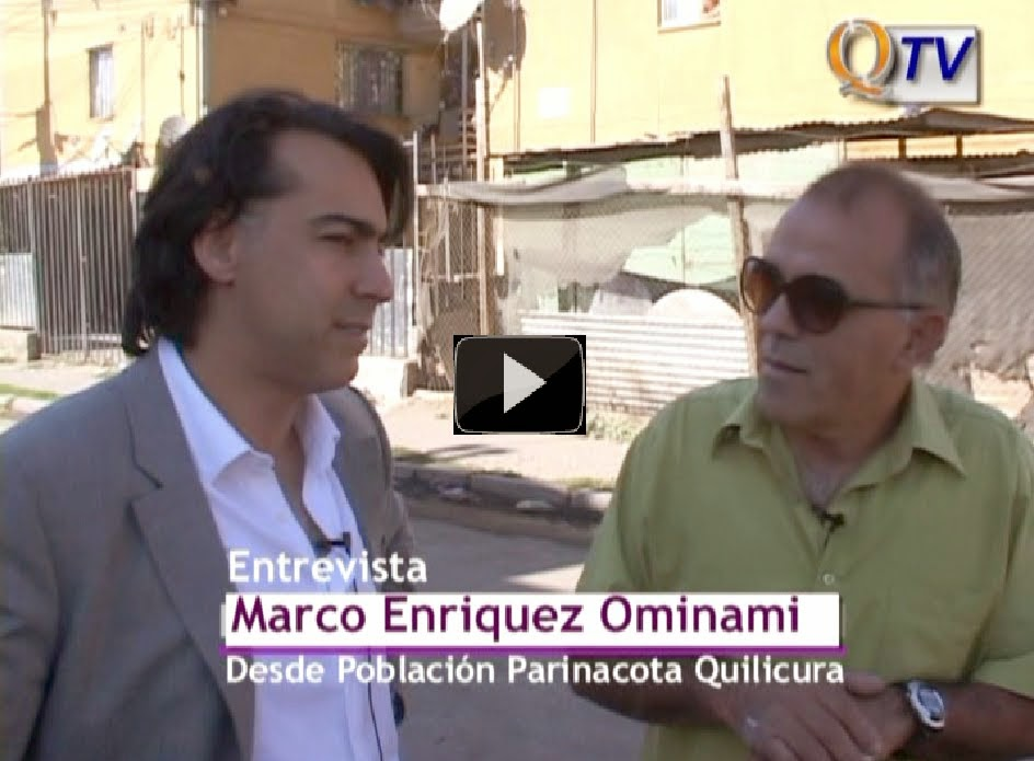 """Programa """"PLAZA CIUDADANA"""": Invitado Marco Enriquez Ominami. (Archivo)"""