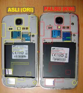 Tips Cara Membedakan Smartphone Samsung Asli atau Palsu