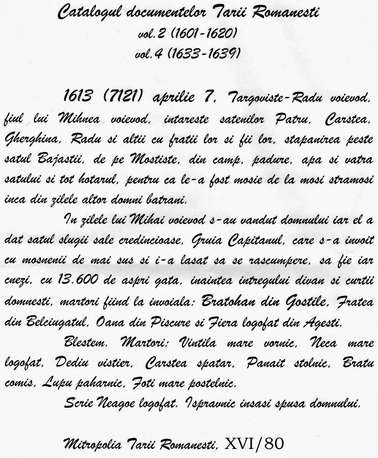 GOSTILELE - 400 DE ANI