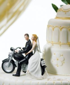 Weddingspies Harley Davidson Wedding Cakes Harley Davidson Wedding Cake Toppers