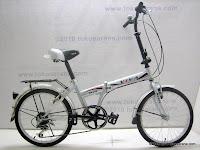 1 Sepeda Lipat VIVA NEXUS 7 Speed Shimano 20 Inci