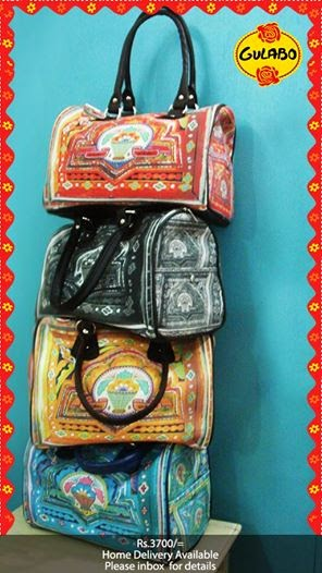 gulabo truck art bags and clutches collection