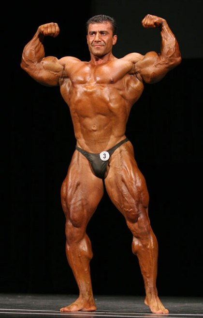 The Great Big Mountain Bodybuilder - Grigori Atoyan