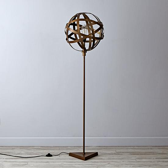 Our hopeful home the land of nod inspired orbital floor lamp diy the land of nod orbital floor lamp aloadofball Gallery