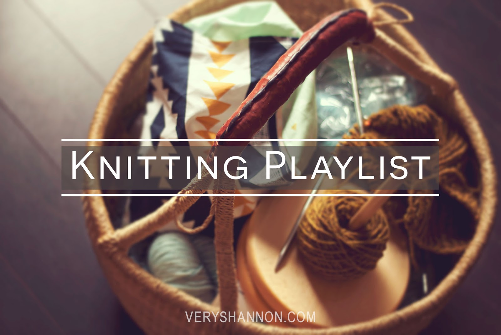 Summer Sweater Knit Along Knitting Music Playlist || VeryShannon.com