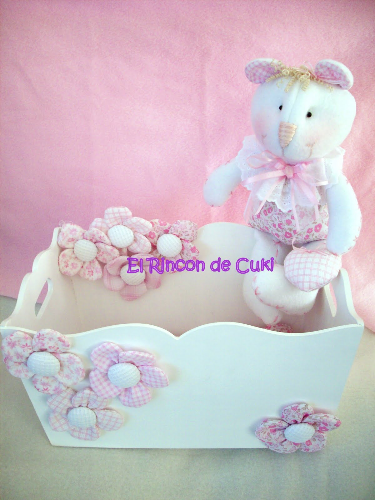 El rinc n de cuki artesan as country caja for Accesorios habitacion bebe