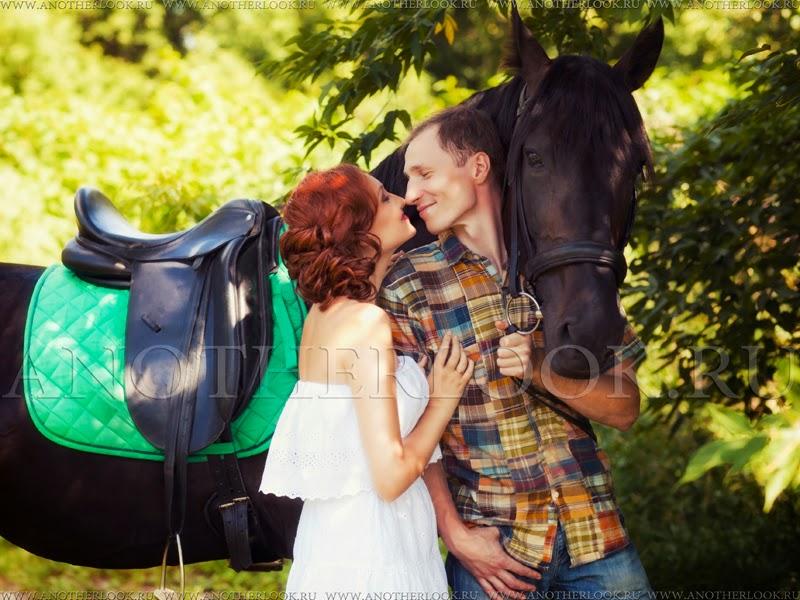 фотосессия в конном клубе