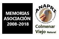 Memorias parciales hasta el 2018