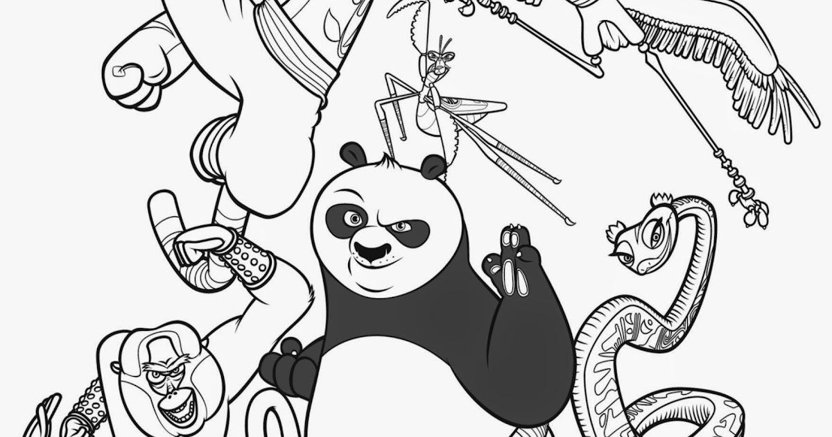 kung fu panda printable coloring pages - kung fu panda coloring pages free coloring pages