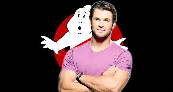 Chris Hemsworth en Cazafantasmas