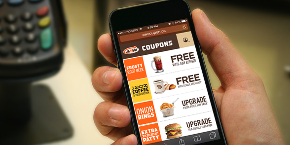 A&W Canadian coupons
