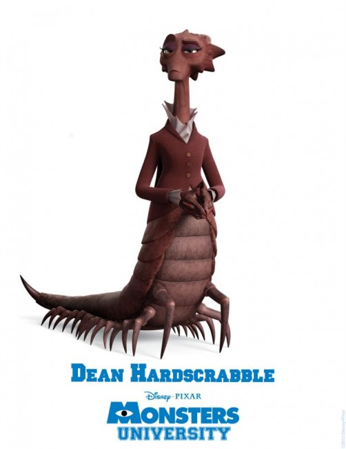 Monsters University 2013 film poster animatedfilmreviews.blogspot.com