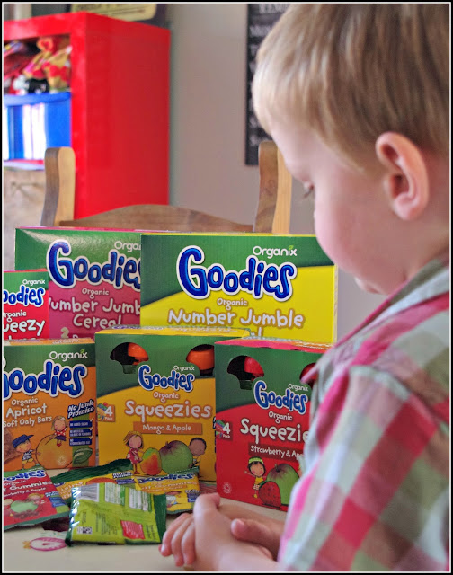 Organix Goodies for toddlers