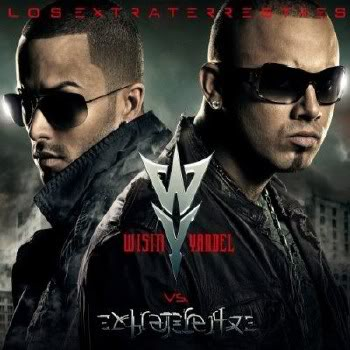 Wisin y Yandel - Los Extraterrestres Portada Cover album los extraterrestres wisin y yandel disco portada