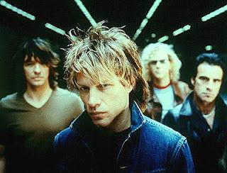 Banda de hard rock norte-americana Bon Jovi