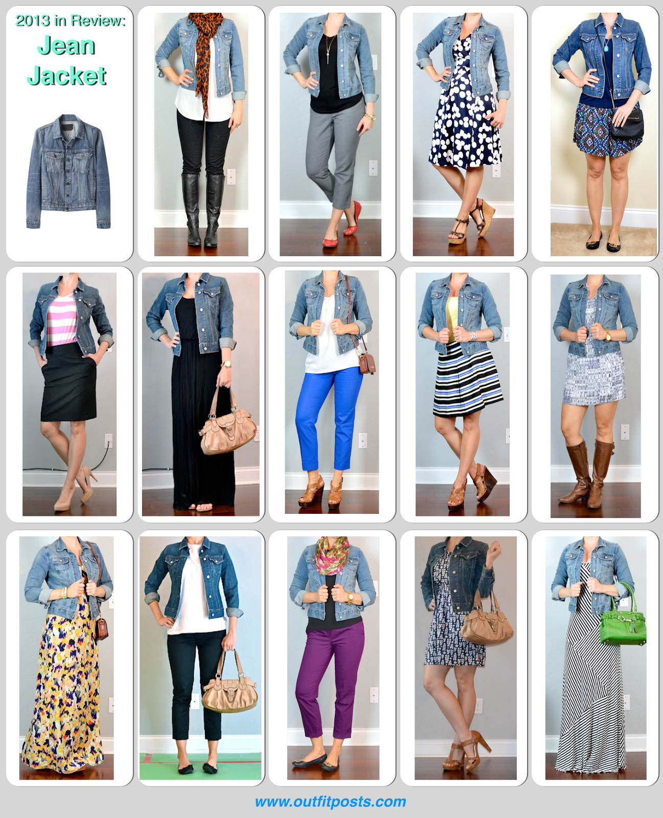 2013 In Review Outift Posts Jean Jacket Outfit Posts