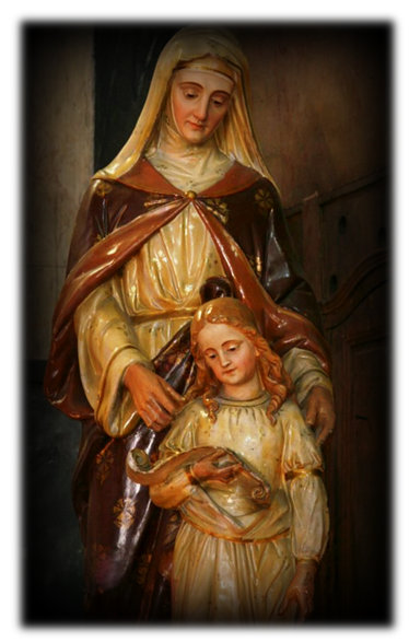 What is st anne patron of