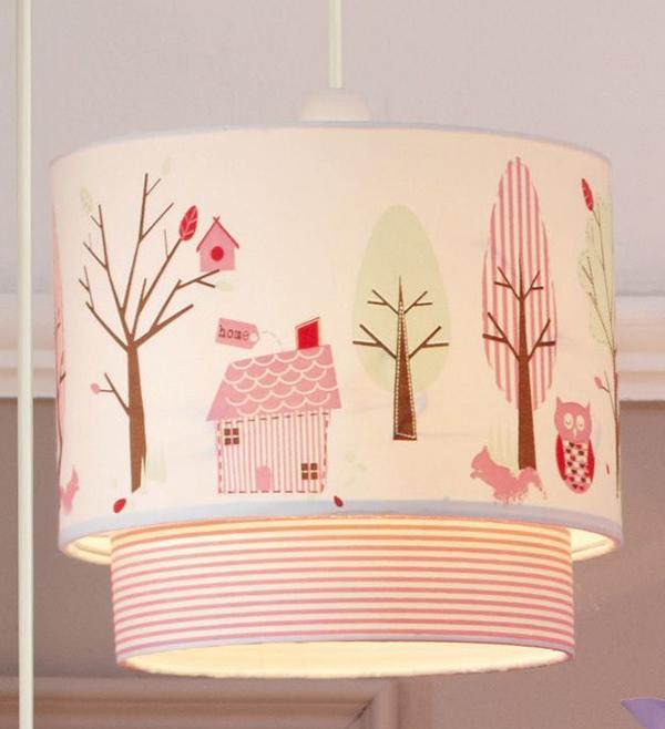 desain lampu gantung cantik untuk kamar tidur anak