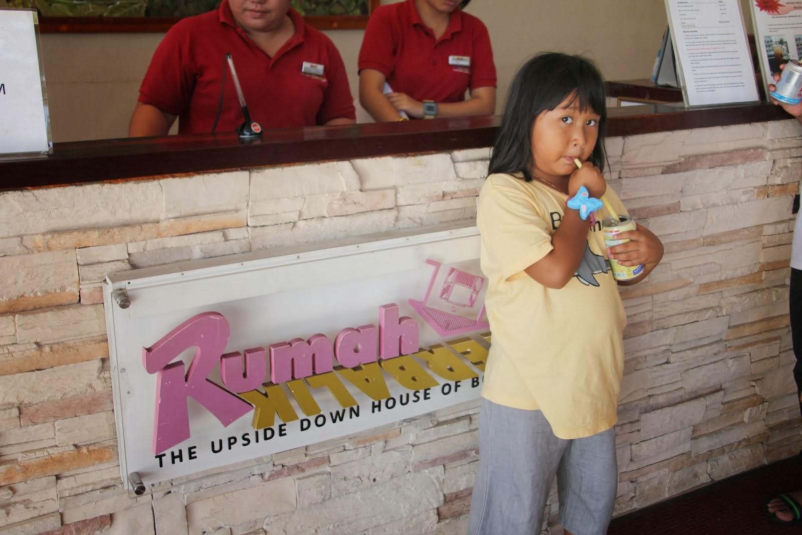 Rumah Terbalik,Sabah