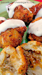 Stuffed Mashed Potato Balls (Papas Rellenas)