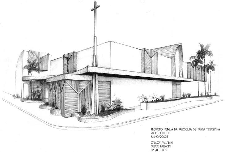proj igreja santa terezinha - desenho