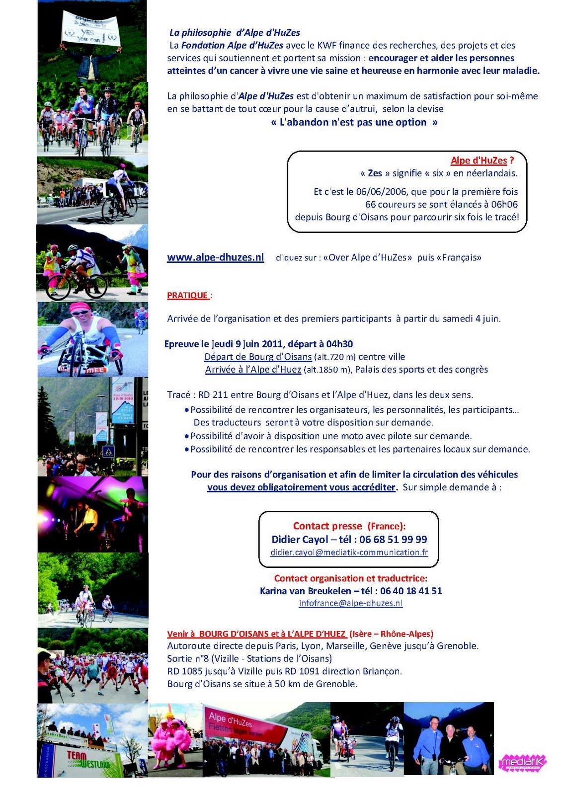 News de l 39 office de tourisme bourg d 39 oisans news de l 39 alpe d 39 huzes - Bourg d oisans office tourisme ...