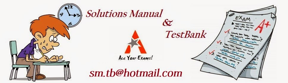 solution manual test bank