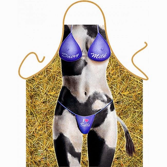 Delantal Mujer Vaca