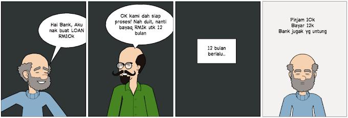 Perbankan Islam ada Riba' atau Tidak.