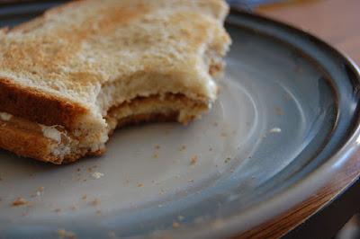 My half eaten sandwich