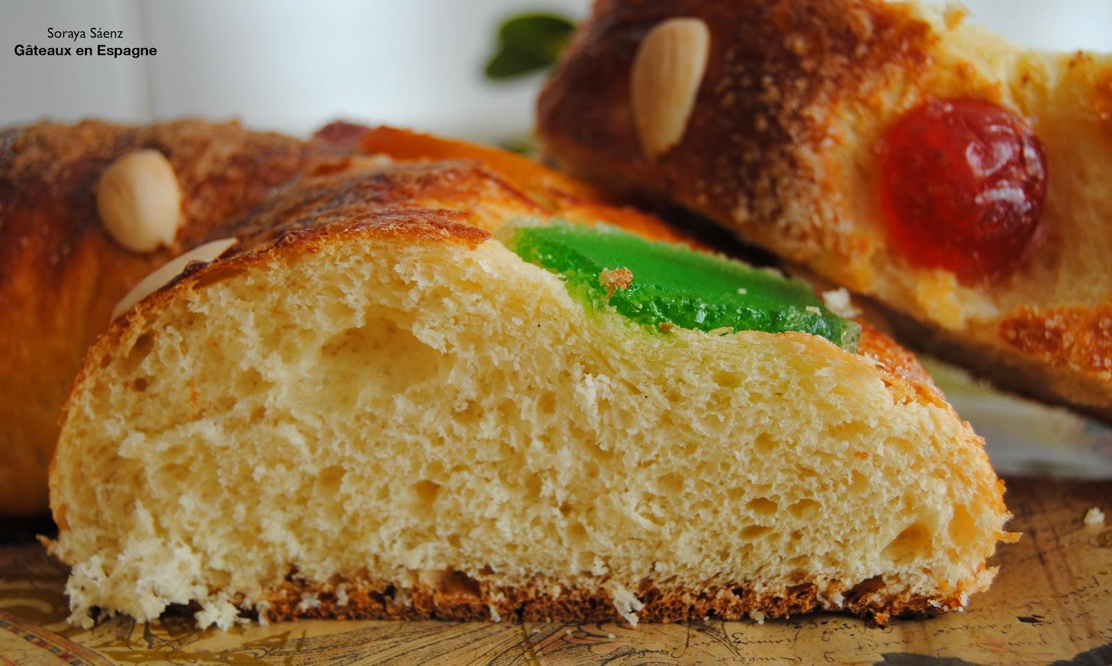 G teaux en espagne recette facile de brioche des rois la fleur d 39 oranger et aux fruits confits - Recette facile a faire sans four ...