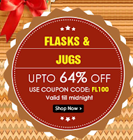 Buy Flasks And Jugs at upto 64% Off : Buytoearn