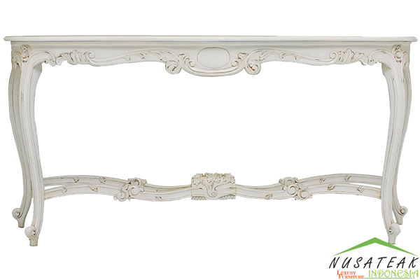 Rantau French Style Console Table - Nusa Teak