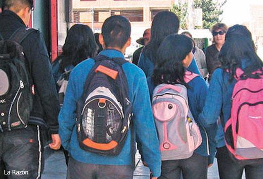 Adolescentes en Bolivia