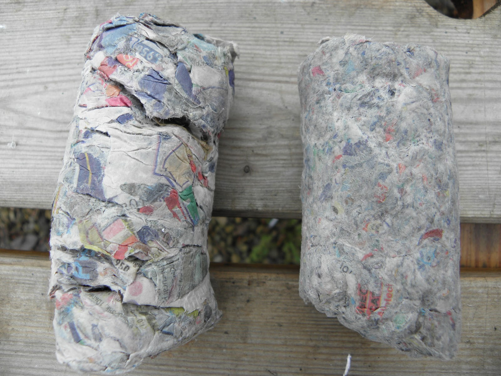Изготовление бумажных брикетов из отходов. История из Англии. svoimi rukami bumazhnyie briketyi