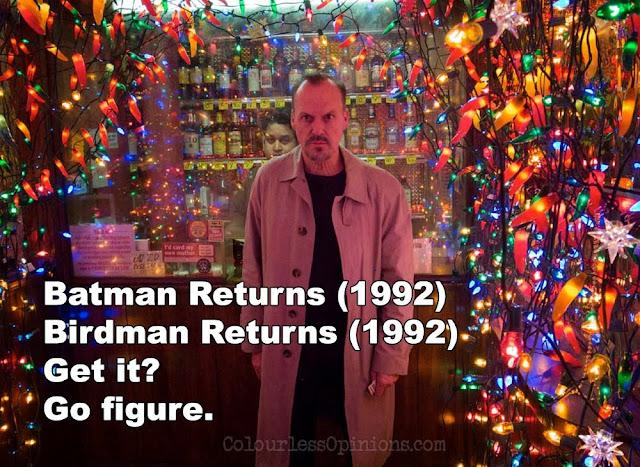 Michael Keaton Birdman Batman 1992